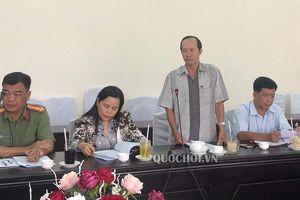 Đoàn đbqh tỉnh Kiên Giang thông qua kết quả giám sát về hoạt động việc quản lý thủy sản