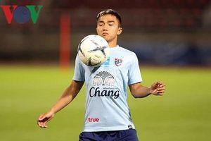 'Messi Thái Lan' khoác áo số 10 trong trận đấu với ĐT Việt Nam