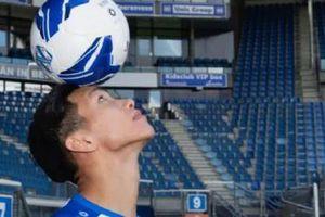 Văn Hậu chia sẻ về cơ hội thành công tại Heerenveen trên báo Hà Lan