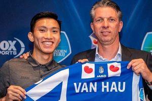 Văn Hậu giúp đội bóng Hà Lan lập kỷ lục ngay ngày ra mắt
