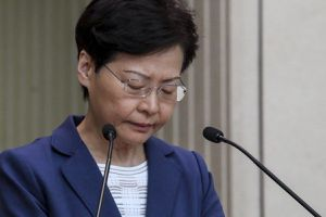 Lãnh đạo Hong Kong: Tôi chưa từng thảo luận chuyện từ chức với Bắc Kinh