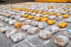 Anh bắt giữ lô ma túy lớn nhất lịch sử trị giá 148 triệu USD