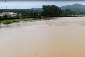 Hà Tĩnh: Nhiều vùng bị cô lập, hàng ngàn hecta lúa chìm sâu trong nước