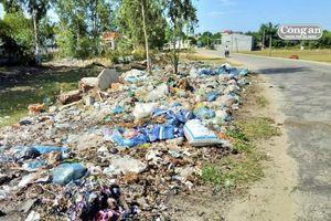 Khó khăn trong thu gom rác thải các xã ven biển