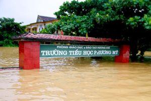 Dự báo miền Trung mưa lớn trong ngày khai giảng