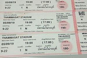 Choáng với giá vé 'chợ đen' trận đấu giữa Việt Nam và Thái Lan