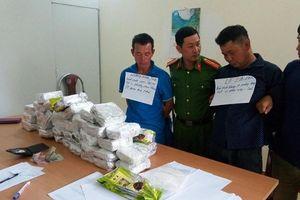 Hải quan Điện Biên phối hợp bắt 50 kg ma túy tổng hợp