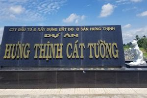Long An: Hàng loạt sai phạm tại dự án khu dân cư Hưng Thịnh Cát Tường