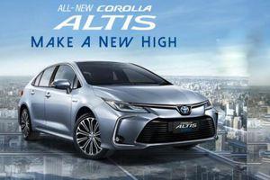 Toyota Corolla Altis 2020 ra mắt Thái Lan, sắp về Việt Nam
