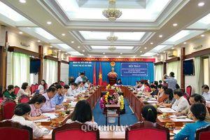Đoàn đbqh tp.hồ Chí Minh lấy ý kiến đóng góp cho Dự thảo sửa đổi, bổ sung một số Luật