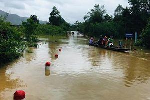 1 người chết, 11 người mất tích do mưa lũ ở miền Trung