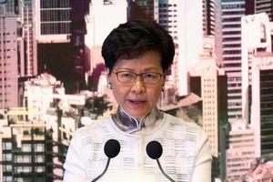 Lãnh đạo Hong Kong chính thức tuyên bố rút dự luật dẫn độ