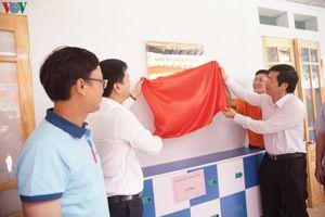 VOV1 khánh thành điểm trường mầm non ở Tuyên Quang