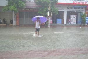 Hà Tĩnh tiếp tục mưa to, 27 xã ở 4 huyện ngập lụt