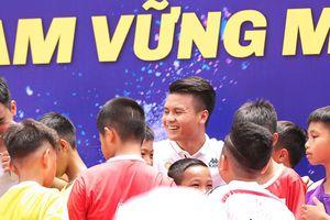 Quang Hải sẽ trở thành 'Đại sứ thắp lửa ước mơ' cho học sinh Thủ đô