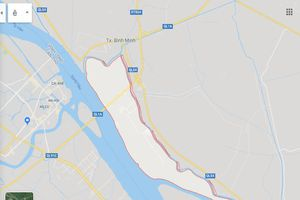 Vĩnh Long sắp có khu đô thị diện tích 500 ha giáp sông Hậu