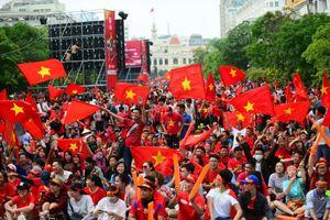 Vì sao phố đi bộ Nguyễn Huệ không được chiếu trận Việt Nam - Thái Lan?