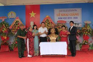 Lễ khai giảng tại ngôi trường mang tên vị tướng Nguyễn Chơn