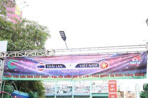 TPHCM lặng lẽ trước 'đại chiến' Thái Lan - Việt Nam