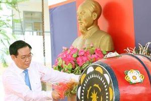Phó Thủ tướng Vương Đình Huệ dự ngày hội đến trường tại huyện Hưng Hà, Thái Bình