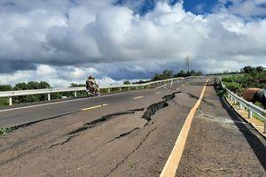 Vụ tuyến tránh 250 tỉ nứt gãy như 'động đất': BQL báo cáo Bộ GTVT những gì?