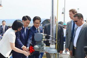 Hà Nội khánh thành nhà máy nước 'khủng' có thể uống tại vòi