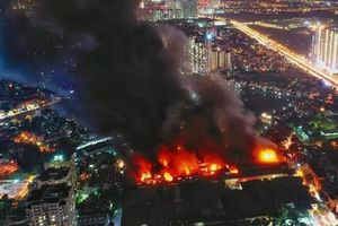 Bộ Tài nguyên Môi trường khuyến cáo người dân sau vụ cháy Công ty Rạng Đông