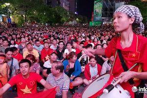 Những địa điểm công cộng nào được công chiếu miễn phí trận Việt Nam gặp Thái Lan?