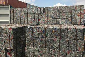 Lô hàng 5 container xuất lậu là nhôm phế liệu