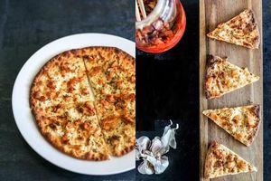15 phút làm pizza kim chi lạ miệng ai ăn cũng phải xuýt xoa