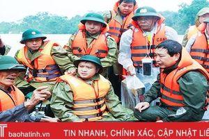 Các lực lượng vũ trang, tổ chức đoàn thể sẵn sàng giúp dân sơ tán trong tình huống cấp thiết