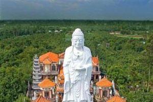 Ghé thăm chùa có tượng Phật tổ A Di Đà cao nhất Việt Nam