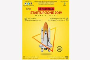 Khởi động cuộc thi Startup Zone 2019