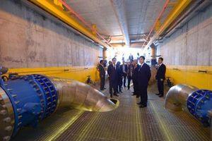 Khánh thành giai đoạn 1 nhà máy nước sạch nghìn tỷ đồng