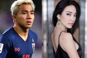 Bạn gái hơn 12 tuổi của 'Messi Thái Lan' khoe vóc dáng siêu nóng bỏng