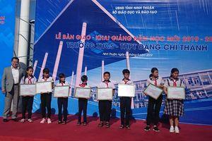 Trungnam Group bàn giao trường học mới cho tỉnh Ninh Thuận nhân lễ Khai giảng năm học mới