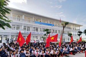 Ninh Thuận: Trung Nam Group bàn giao trường học hơn 50 tỷ đồng tặng học sinh khó khăn