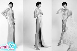 Mãn nhãn với đôi chân dài 1m12 trứ danh của siêu mẫu Thanh Hằng trong BST mới của NTK Công Trí