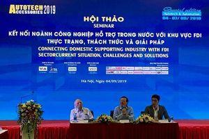 Kết nối ngành công nghiệp hỗ trợ với khu vực FDI