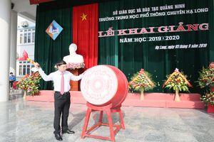 Trên 338.000 học sinh Quảng Ninh tưng bừng khai giảng năm học mới