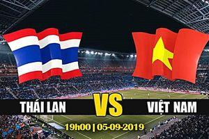 Lịch thi đấu vòng loại 2 World Cup 2022: Việt Nam đối đầu Thái Lan