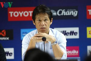 HLV Akira Nishino hài lòng với kết quả hòa 0-0 trước ĐT Việt Nam