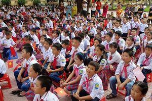 Trường TH Định Tân: Tưng bừng lễ khai giảng năm học mới 2019-2020