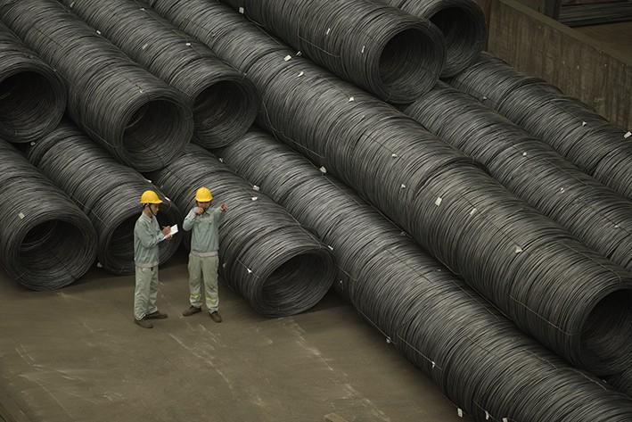 Sản lượng tiêu thụ thép Hòa Phát tháng 8 tăng 7,6% so với cùng kỳ