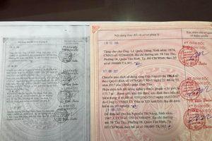Chuyển cơ quan điều tra vụ giả giấy hồng