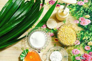 Hướng dẫn làm bánh Trung thu đậu xanh lá dứa