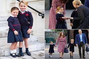 Tiểu Công chúa Charlotte đáng yêu 'hết nấc' trong ngày đến trường