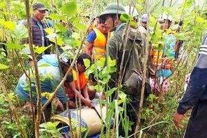 Tìm thấy thi thể nam sinh bị lũ cuốn khi đi hái măng rừng