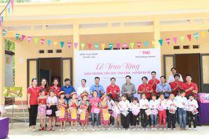TNG Holdings Vietnam triển khai chương trình tiếp sức 'Cùng em đến trường' ở nhiều tỉnh thành