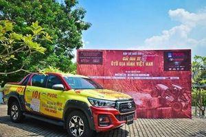 Giải đua xe ôtô địa hình lớn nhất Việt Nam sẽ diễn ra tại Đồng Mô